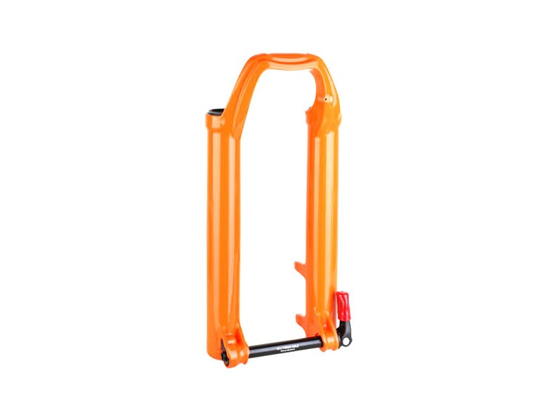 "FOX RACING SHOX Fork 36mm 2018 Lower Leg Assembly 29"" 170mm 15X110 QR Orange click to zoom image"