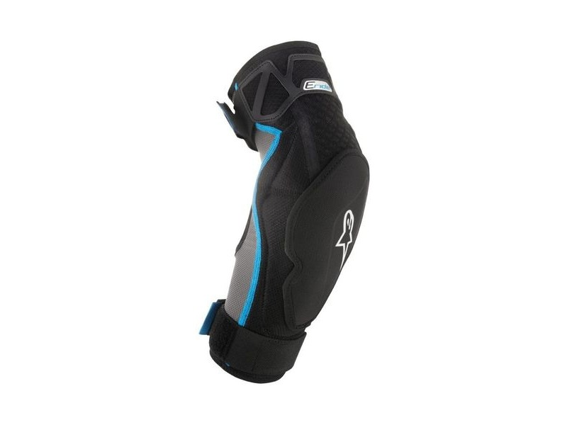 ALPINESTARS Eride Elbow Protector 2019: Black Cyan click to zoom image