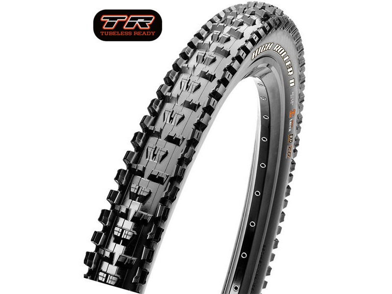 MAXXIS High Roller II 27.5x2.40 60TPI Folding 3C Maxx Grip TR click to zoom image