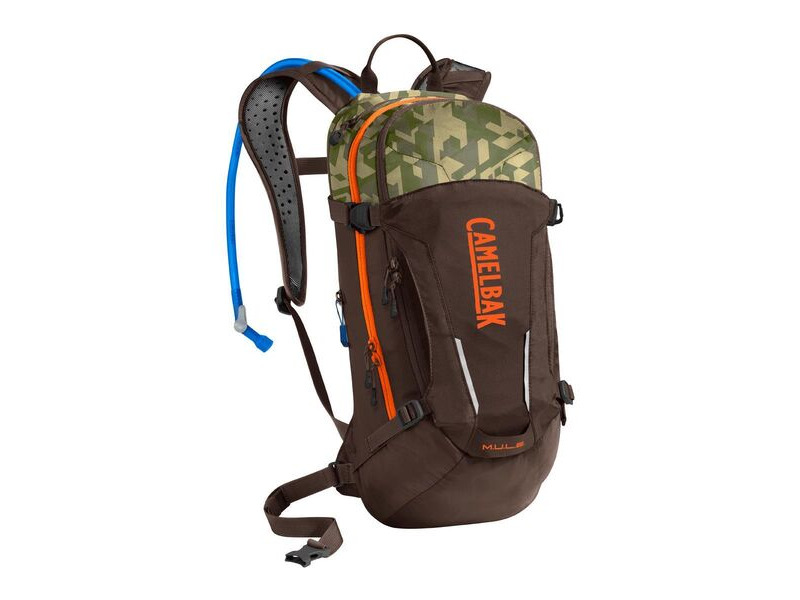 CAMELBAK Camelbak Mule Hydration Pack 2020: Kelp/Black 3l/100oz click to zoom image