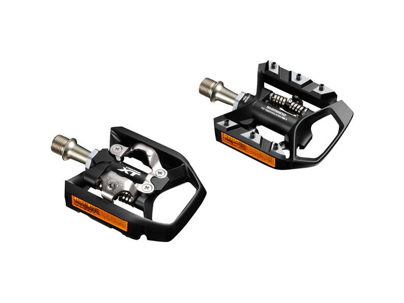 SHIMANO PD-T8000 XT MTB SPD Trekking pedals, single-sided mechanism click to zoom image