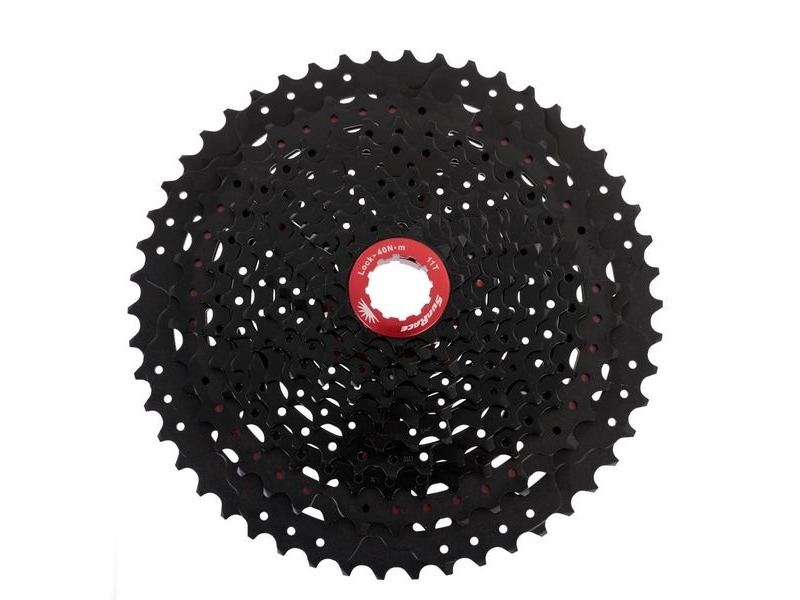 SunRace MX80 11-50t Cassette BlackChrome click to zoom image