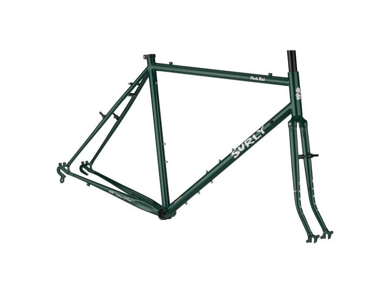 "SURLY Pack Rat Frameset 26"" Green click to zoom image"