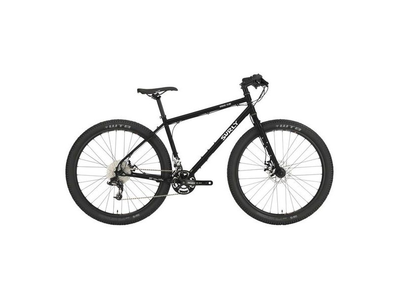 "SURLY Bridge Club 1x12sp 27.5"" Utility Mountain Bike, Hydro Disc Brake, Gnot Boost Black click to zoom image"