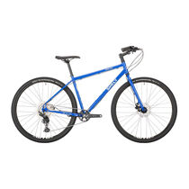 SURLY Bridge Club 1x11sp Deore 700c Utility Mountain Bike, Hydro Disc Brake, Gnot Boost 138mm Loo Azul